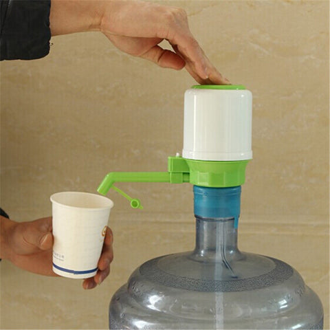 Hand Press Dispenser Pump For Water Bottle