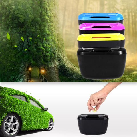 Car Environment Cargo Trash Can Garbage Or Storage Box Container