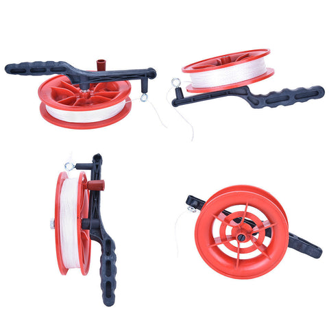Red Wheel Kite Line Winder Tool