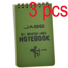 Green All-Weather Waterproof Tactical Notebook - UYL Online Store