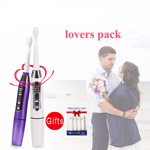 New Electric Ultrasonic Toothbrush Lovers Pack - UYL Online Store
