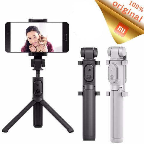 Bluetooth Selfie Stick Foldable Tripod Monopod Handheld With Wireless Shutter For Android & iPhone