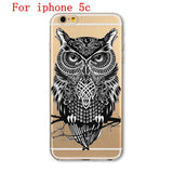 Soft TPU Silicon Transparent Thin Cover Cute Cat Owl Animal Case FREE Plus Shipping Offer