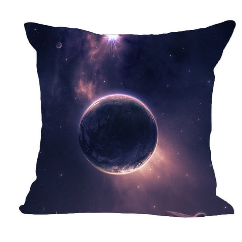 Modern Design Galaxy Print Pillow Case