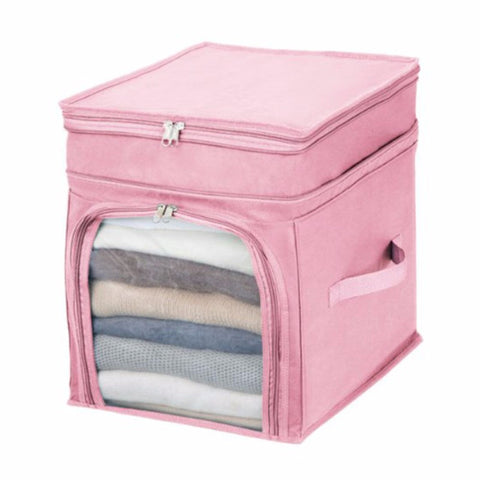 Foldable Fabrics Clothes Storage Box Organiser