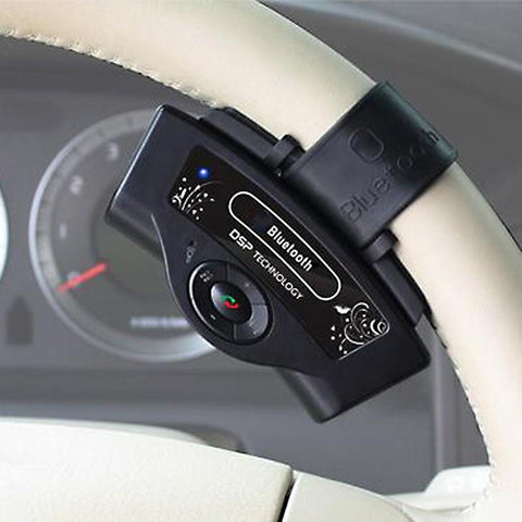 Bluetooth Car Kit - Portable Parrot Steering Wheel Hands free For All Mobile phones - UYL Online Store