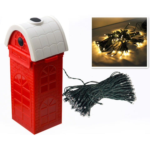 Salt Water Powering Christmas LED Lights Decoration