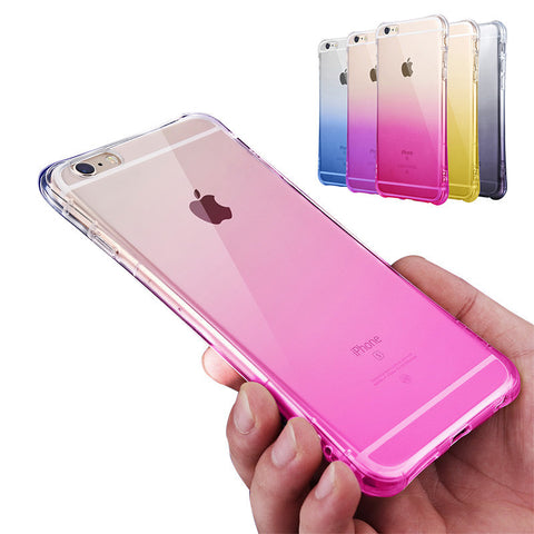 Silicone Anti-crash Case For iPhone 6 6S / 6 Plus 6S Plus