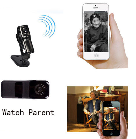 Mini Pocket-Sized WiFi Wireless IP Camera Video Remote by Phone