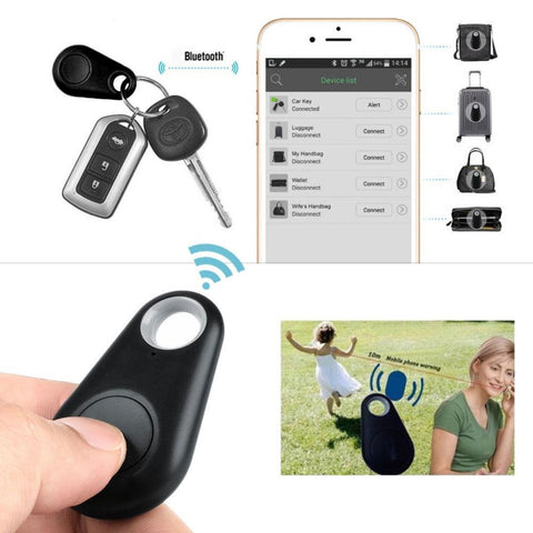 Smart finder Key finder Wireless Bluetooth Tracker Anti lost alarm Smart Tag Child Bag Pet GPS Locator itag for iOS Android - UYL Online Store