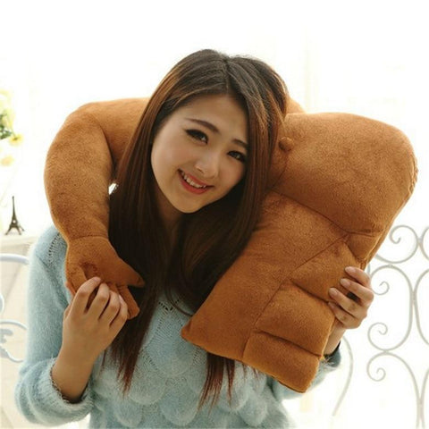 Soft Body Muscular Boyfriend Arm Shape Warm Pillow