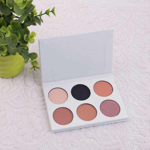 6 Colors Long Lasting Eyeshadow Palette