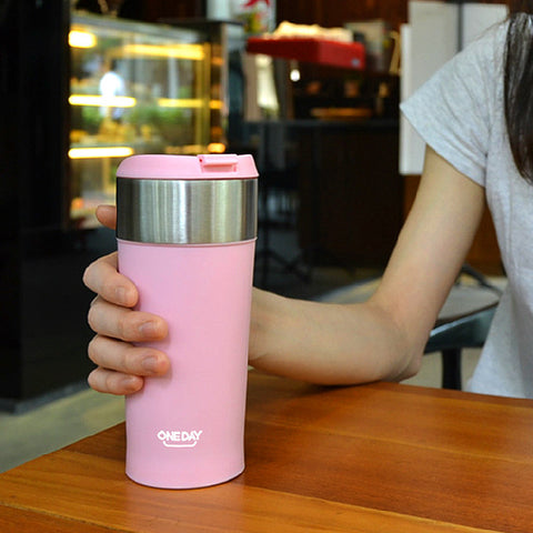Stainless Steel Coffee Thermocup Vacuum Flask - UYL Online Store