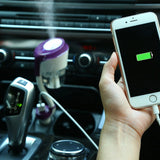 Upgraded Car Humidifier Air Purifier