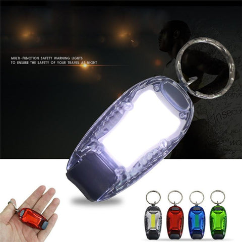 Waterproof Night Running Safety Cycling Bicycle Outdoor Camping Warning LED Light Clip