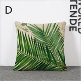 Summer Style Woven Linen Nature Cushion Pillow Case - UYL Online Store