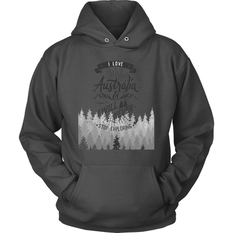 Whitewashed Forest Hoodie
