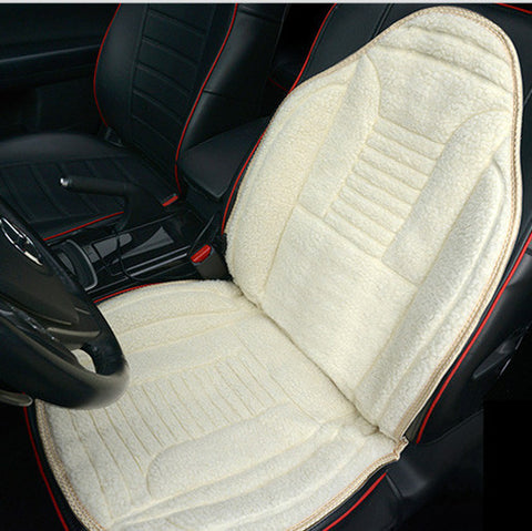 Heated car Seat Cover- Beige - UYL Online Store