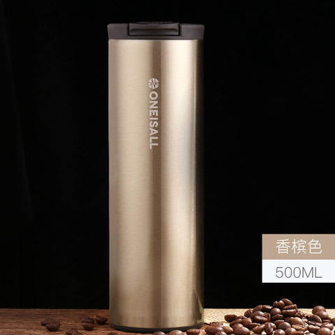 Stainless Steel Keep Thermos Coffee Mug - UYL Online Store