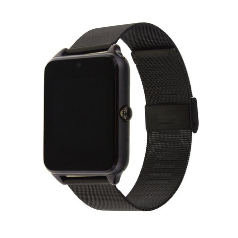 Metal Clock Bluetooth Connectivity Smart Watch - UYL Online Store