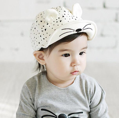 Cartoon Peaked Baseball Cap for Babies - UYL Online Store