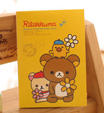 Kawaii Mini Rilakkuma Portable Soft Notebook Planner - UYL Online Store