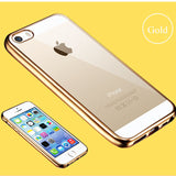 Soft Clear Case for Apple iPhone 7 6 6s Plus 5 5s se 4 4s - UYL Online Store