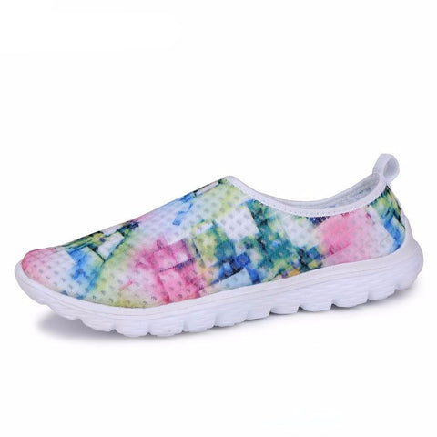 3D Multi Color Women's Sneakers - UYL Online Store