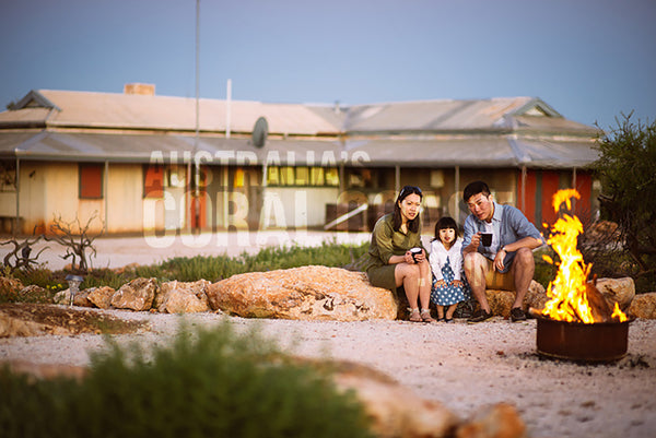 Hamelin Station Stay family Shark Bay Western Australia
