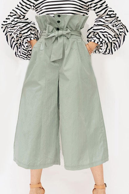 Super Bucket Waist Pants - Trousers - Kerkés Fashion