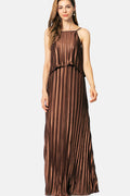 Coco Metallic Maxi Dress - Dresses Party - Kerkés Fashion