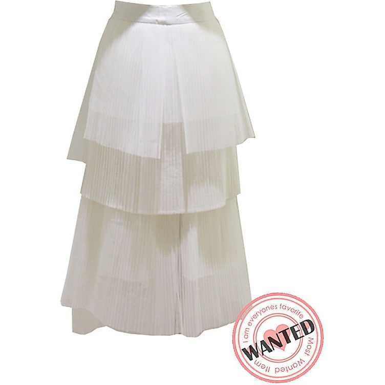Crispy Layered Skirt - Skirts - Kerkés Fashion