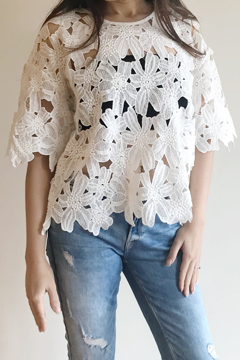 Lucy Lace Top - Tops casual - Kerkés Fashion