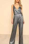 Shine On Metallic Jumpsuit -  - Kerkés Fashion