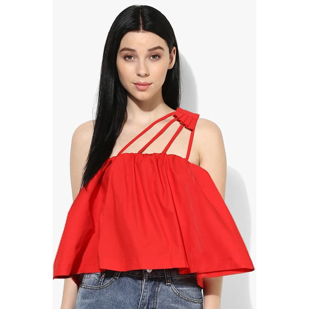 Frenchy Flare Crop Top