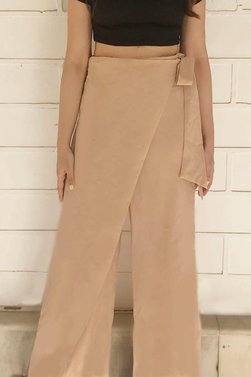 Ozanne Overlap Pants - Trousers - Kerkés Fashion