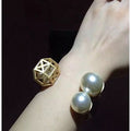 Pearl Bracelet & Ring Set - Finger Rings Bracelets - Kerkés Fashion