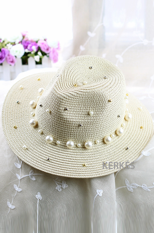 Pearl Hat - hats - Kerkés Fashion
