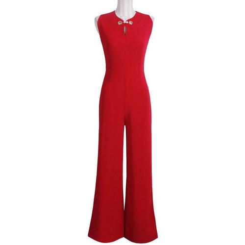 Pearl Pin Jumpsuit -  - Kerkés Fashion