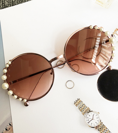 Pearl Sunglasses - Women Sunglasses - Kerkés Fashion
