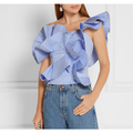 Raffaela Ruffly Ruffle Top - Tops - Kerkés Fashion