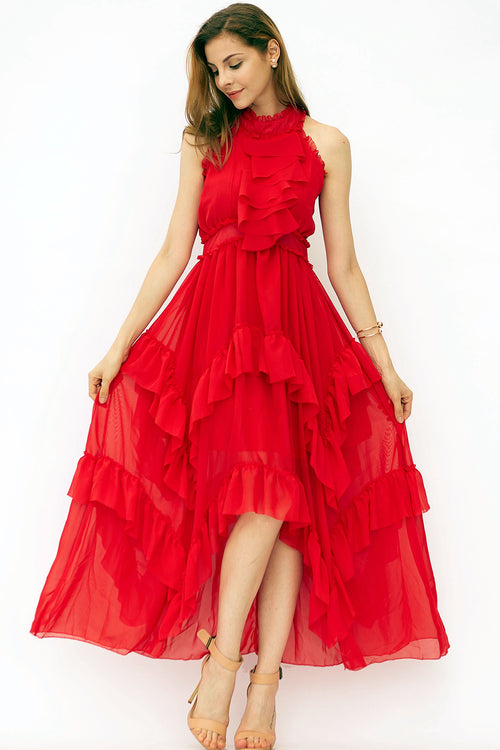 Ru La La Ruffle Dress
