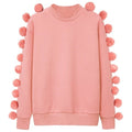 Shake Your Pom Pom Sweatshirt - Women Sweatshirts - Kerkés Fashion