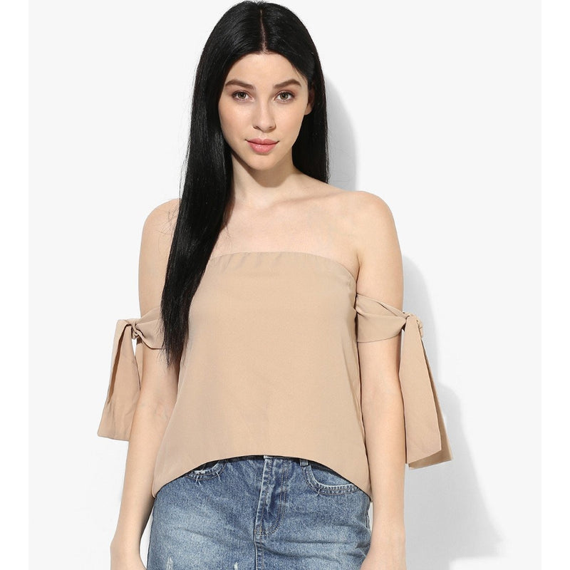 Sia Sleeve Tie Top - Tops casual - Kerkés Fashion
