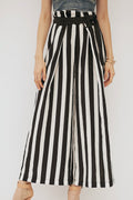 Siya Striking Stripes Flare Pants