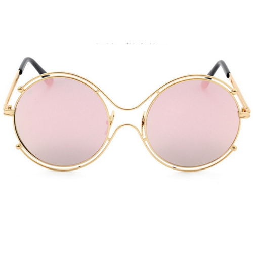 Rae Round Sunnies - Women Sunglasses - Kerkés Fashion