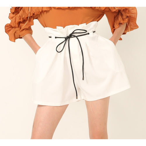 Braila Bucket Waist Shorts - shorts - Kerkés Fashion