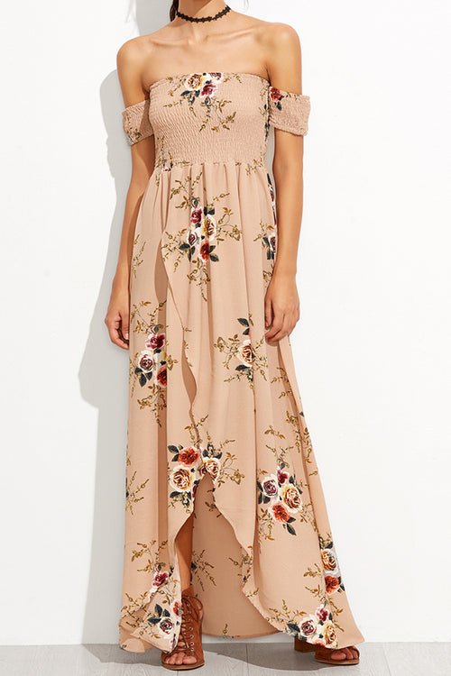 Fiona Floral Maxi Dress - Dresses Casual Party - Kerkés Fashion