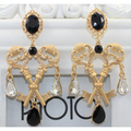 Crystal Key Earrings - Earrings - Kerkés Fashion