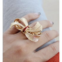 Bow's & Rings Finger Ring - Finger Rings - Kerkés Fashion